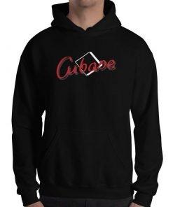 Cubase Gildan 18500 Unisex Heavy Blend Hooded Sweatshirt Front Mens Black
