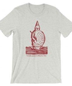 Ubu Roi Bella+Canvas 3001 Unisex T-Shirt Front Wrinkled Ash