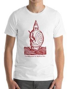 Ubu Roi Bella+Canvas 3001 Unisex T-Shirt Front Mens White