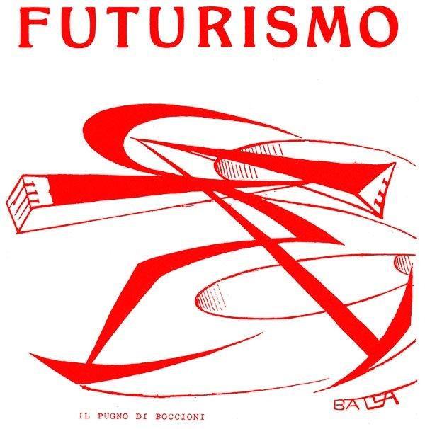 """""""Il pugno di Boccioni"""" (Boccioni's Fist) by italian futurist painter Giacomo Balla."""